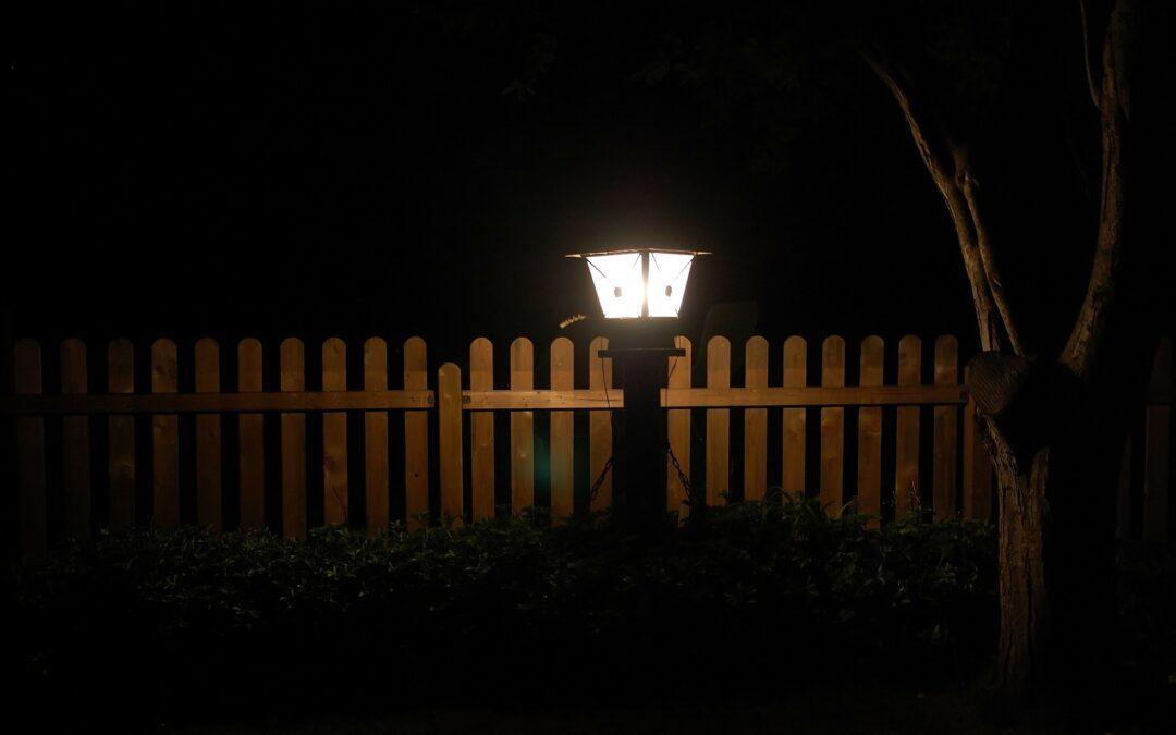 Lantaarn verlichting tuin